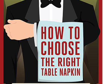 choose the right table napkin